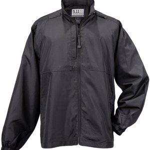 5.11 Tactical Packable Lightweight Fleece Lined Windbreaker Jacket
